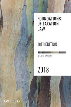 Cover of Foundations of Taxation Law 2018