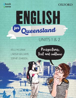 Cover of English for Queensland Year 11