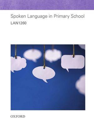 Cover of LAN1260 Spoken Language in Primary School
