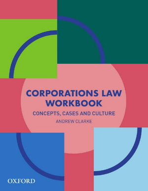 Cover of Corporations Law Workbook