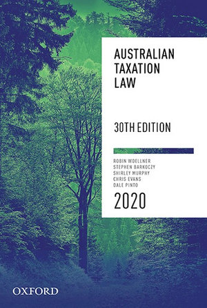 Cover of Australian Taxation Law 2020