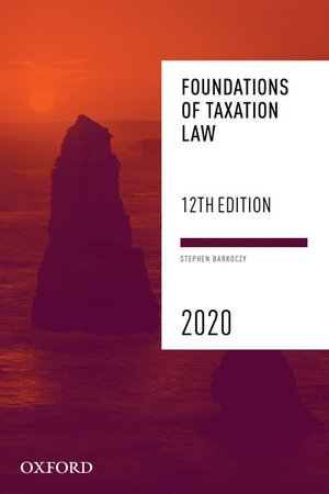 Cover of Foundations of Taxation Law 2020