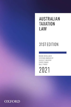 Cover of Australian Taxation Law 2021