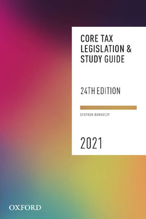 Cover of Core Tax Legislation and Study Guide 2021