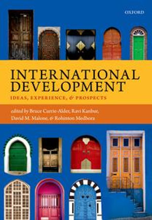 Cover of International Development: Ideas, Experience, and Prospects
