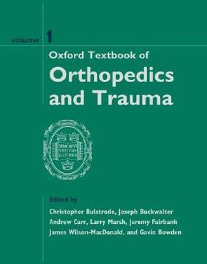 Cover of Oxford Textbook of Orthopedics and Trauma