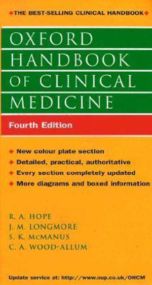 Cover of Oxford Handbook of Clinical Medicine