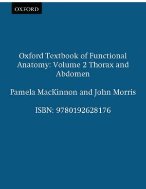 Cover of Oxford Textbook of Functional Anatomy
