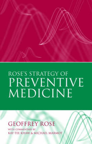 Cover of Rose's Strategy of Preventive Medicine