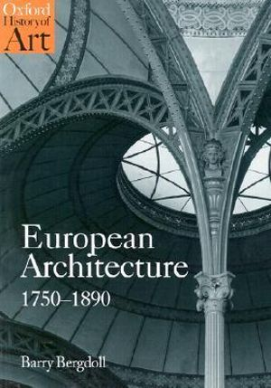 Cover of European Architecture, 1750-1890
