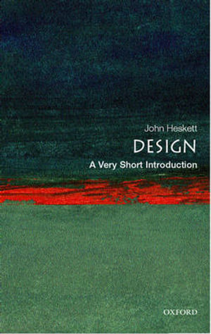 Cover of Design: A Very Short Introduction