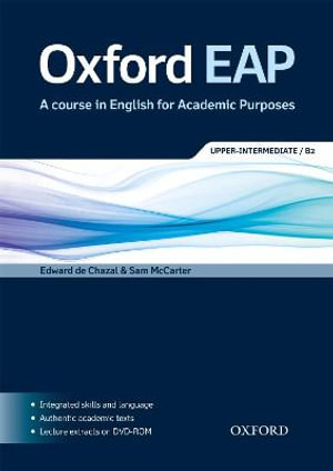 Cover of Oxford EAP B2: Student's Book and DVD-ROM Pack