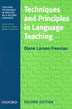 Cover of Techniques and Principles in Language Teaching