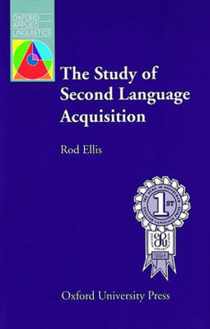 Cover of The Study of Second Language Acquisition