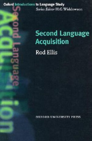 Cover of Second Language Acquisition