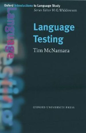 Cover of Language Testing
