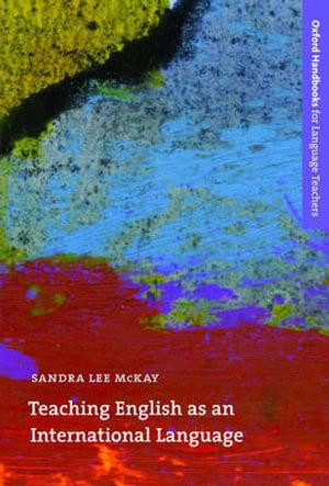 Cover of Teaching English as an International Language