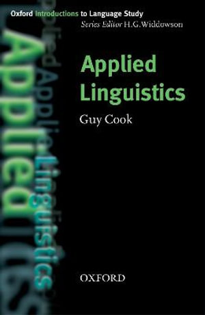 Cover of Applied linguistics