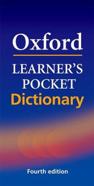 Cover of Oxford Learner's Pocket Dictionary