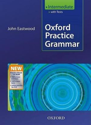 Cover of Oxford Practice Grammar Intermediate: With Key Practice-Boost CD-ROM Pack