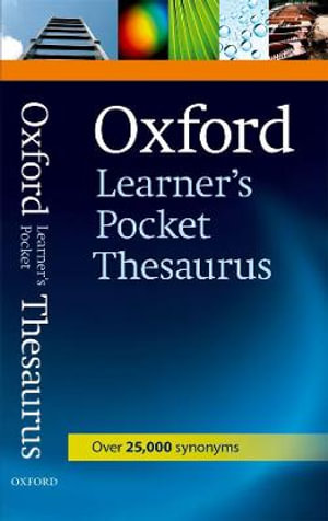 Cover of Oxford Learner's Pocket Thesaurus