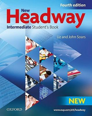 Cover of New Headway 4e Intermediate Student Book Pack Component