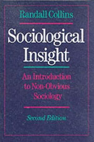 Cover of Sociological Insight