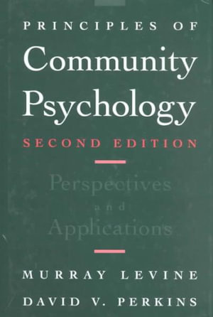 Cover of Principles of Community Psychology