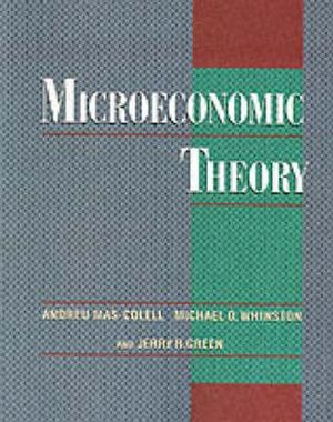 Cover of Microeconomic Theory