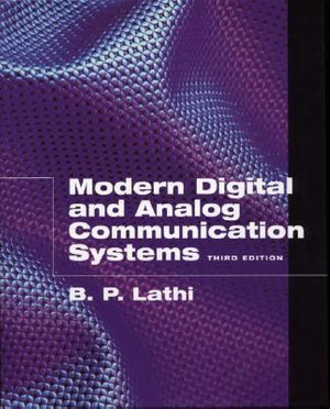 Cover of Modern Digital and Analog Communication Systems