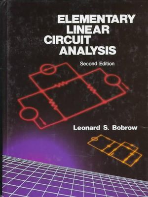 Cover of Elementary Linear Circuit Analysis