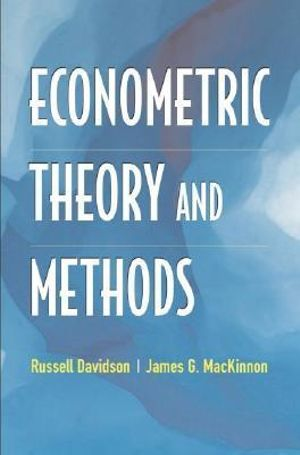 Cover of Econometric Theory and Methods