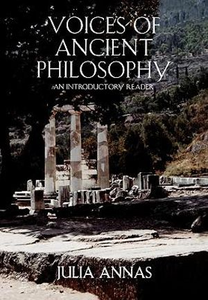 Cover of Voices of Ancient Philosophy