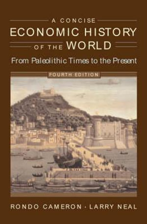 Cover of A Concise Economic History of the World