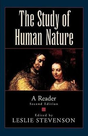 Cover of The Study of Human Nature