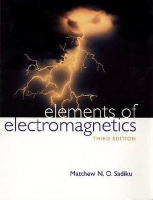 Cover of Elements Of Electromagnetics 3E