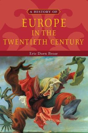 Cover of A History of Europe in the Twentieth Century