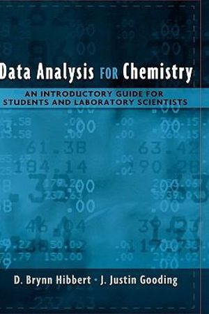 Cover of Data Analysis for Chemistry
