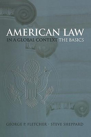 Cover of American Law in a Global Context