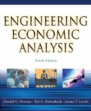 Cover of Engineering Economic Analysis