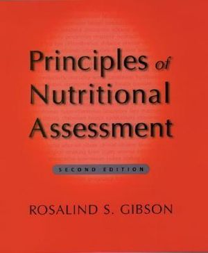 Cover of Principles of Nutritional Assessment