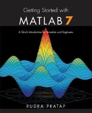 Cover of Getting Started with MATLAB 7