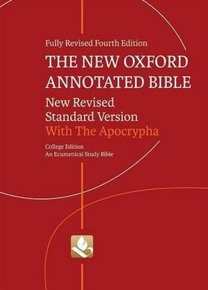 Cover of The New Oxford Annotated Bible