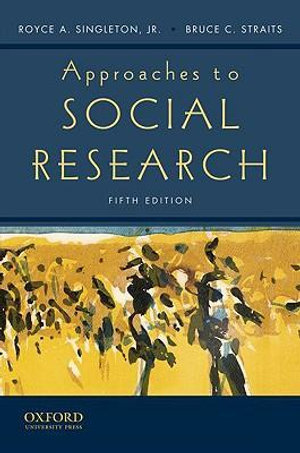 Cover of Approaches to Social Research