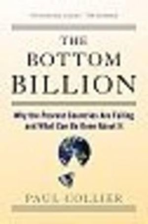 Cover of The Bottom Billion