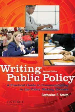 Cover of Writing Public Policy