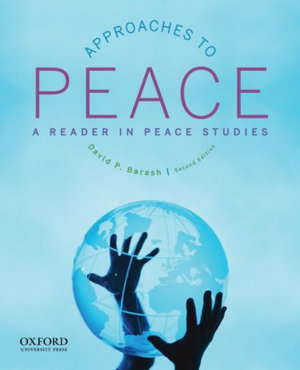 Cover of Approaches to Peace