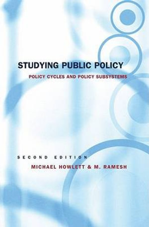 Cover of Studying Public Policy