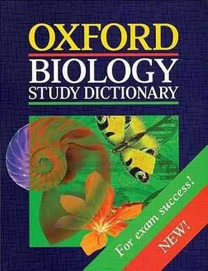 Cover of Biology Study Dictionary
