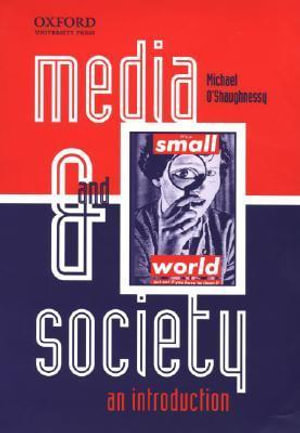Cover of Media and Society: An Introduction